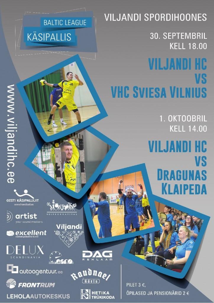 Viljandi HC plakat 1000