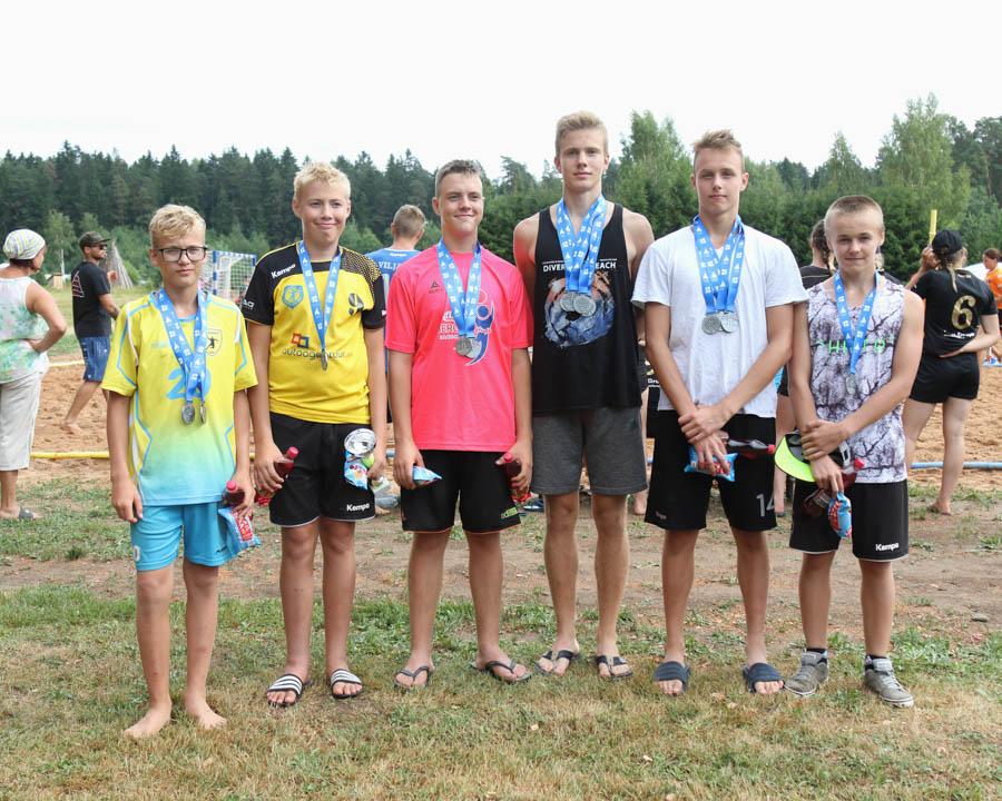 Poisid 2003 II koht Viljandi SK
